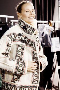 Isabel Marant Fall 2015 RTW Backstage – Vogue #IM #AW15