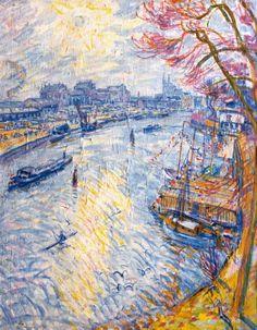 Johannes 'Johan' Dijkstra (Groningen 1896-1978) De Zwaaikom, Groningen - Kunsthandel Simonis en Buunk, Ede (Nederland).