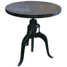 Italian 1940s Adjustable Industrial Table