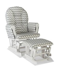 The is ideal for your nursery or any other living space in your home. It has a generous seat area and padded arm cushions to ensure maximum comfort. There is also a side pocket on the chair which h…