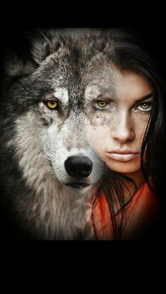Wolf/ girl united
