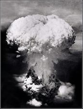 Photo Atomic Bomb 'Fat Man' Detonates Over Nagasaki Early Stages From Bock's Car