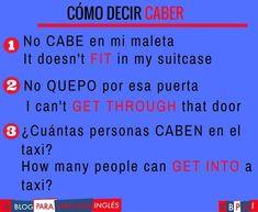 http://blogdelingles.com/ Clases de inglés por Skype http://www.ebpai.com/ #learnspanish #spanishlessons