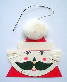 Nikolausanhänger - Weihnachten-basteln - Meine Enkel und ich