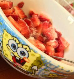 Day 5 - excitement #iamgrateful #photochallange #firstoftheyear #strawberry #favorite #spongebob