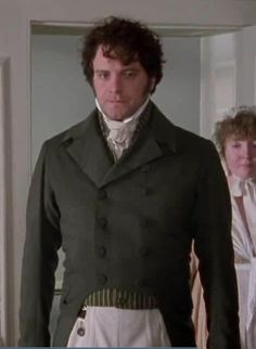 """Pride & Prejudice 1995. Can't you just hear him? """"HOW IS YOUR HEAD LIZZY?? GOOD? GOOD. MARRY ME? NO? I HATE MYSELF."""""""