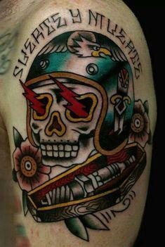 old school biker tattoos - Google Search