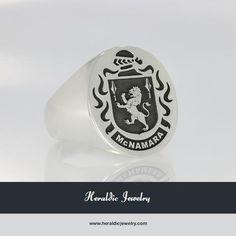 McNamara family crest jewelry