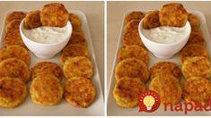 Zmiznú skôr, ako pripravíte prílohu: Najlepšie cuketové fašírky so syrom! Vegetable Recipes, French Toast, Tacos, Food And Drink, Health Fitness, Appetizers, Menu, Chicken, Baking