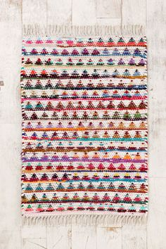 Triangle Weave 2x3 Rug at Urban Outfitters