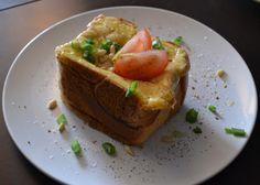 The Recipe Suitcase: Savoury Wednesday: Truffled Eggs Toast à la Brunch & Cake