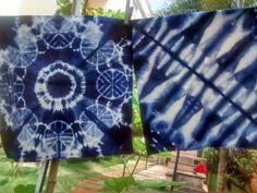 Mandalas Blue....Shibori imaginarium...