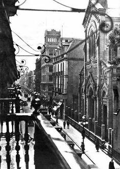 Calle de Madero 1920's, Ciudad de México.