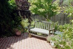 Brick Paving - Seating Area - traditional - patio - san francisco - Diane Licht Landscape Architect
