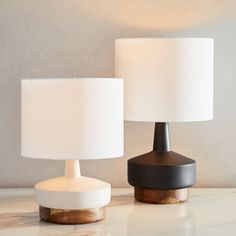 west elm offers modern furniture, home accessories and decor featuring inspiring designs & colours. Table Lamps Uk, Bedside Table Lamps, Light Fittings, West Elm, Storage Baskets, Modern Lighting, Antique Brass, Floor Lamp, Home Accessories