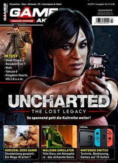 #Uncharted - The Lost Legacy So spannend geht die Kultreihe weiter!  Jetzt in Games Aktuell Magazin:  #Uncharted4 #TheLostLegacy