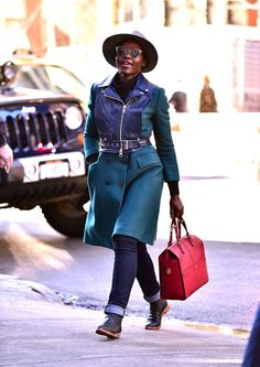 Lupita Nyong?o?s Winter Bright Street Style Is Our Latest Obsession