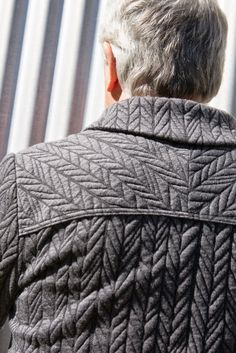 Look at that gorgeous quilted fabric!  Bartacks and Singletrack: It's all about the men