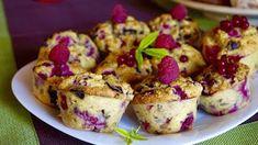 Málnás ribizlis muffin étcsokoládé darabokkal (paleo) ~ Éhezésmentes Karcsúság Szafival