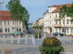 Blick  vom Markt in die Seestraße