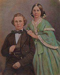 "Mary Eliza Gage (1840-1867) & Nicholas Winne (1830-1867), married January 1859 in Huntsville, Texas, died of ""lung fever"" from chemical used in his daguerreotype business. She died a few days later during childbirth."