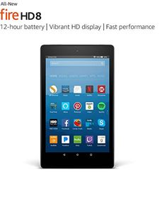 Amazon Kindle Fire Hd 8 + 2 Best Selling books