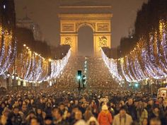 This is what I'm looking forward to! Paris at New Years.