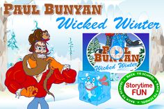 """Paul Bunyan in """"Wicked Winter"""" - Video story for Tall Tales studies http://animatedtalltales.com/webisodes/322-paul-bunyan-in-wicked-winter"""