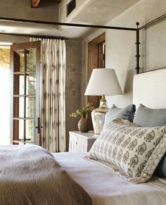 Transform your home with furnishings, decor & inspiration from Providence Design. We'll take care of your every home design & decorating need. Cozy Bedroom, Bedroom Decor, Serene Bedroom, Bedroom Colors, Casual Bedroom, Bedroom Retreat, Interior Exterior, Interior Design, Interior Paint