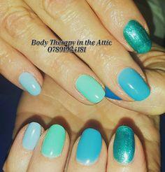 Blue Wave Gel Manicure   #bluewave  #froufroublue #blueblue #skyblue #peppermintpony #deepocean #inspiration #gelllmanicure #gelnails #healthynails #summer #nailart #naturalnails #nailledit #nailsagram @gel_two  @scratchmagazine @nailsmagazine