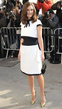 This stunning Chanel dress… | 10 Reasons Why Keira Knightley Rules Fashion