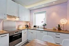 Küche modernisieren - mehr Licht für die Küche, Farbe in der Küche, Wandfarbe Küche,