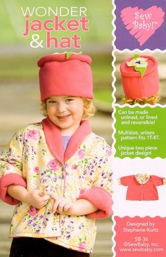 Sew Baby 36 - SewBaby Wonder Jacket Pattern