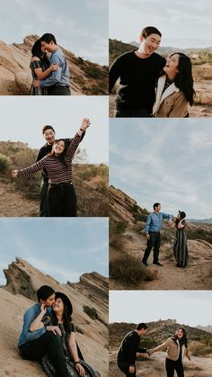 Vasquez rocks engagement session carrie rogers photography к Couple Photoshoot Poses, Couple Picture Poses, Couple Photography Poses, Couple Posing, Couple Shoot, Pre Wedding Poses, Pre Wedding Photoshoot, Vasquez Rocks, Wedding Ideias