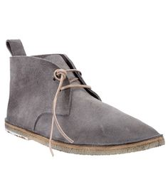 More dressed-up than a sneaker, but not quite as proper as hardbottoms. Your go-to option for a casual everyday outfit. Fango desert boot ($612.64) by Marséll, farfetch.com   - Esquire.com