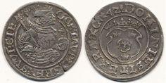 Sweden, Gustav Vasa SM 189 1/2 mark Svartsjö 1542 5,63 g. Stampspricka. Ovanligt välpräglat, vackert exemplar av rart, underskattat årtal (R...