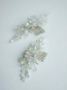 Crystalic flower clips Bridal Hair Accessories, Flower Clips, Brooch, Bride, Flowers, Jewelry, Design, Fashion, Wedding Bride