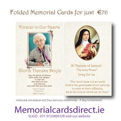 visit our website where we have a lovely selection of memorial cards.