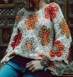 You are in the right place about crochet patterns Here we offer you the most beautiful pictures about the crochet blanket patterns you are looking. Knit Or Crochet, Crochet Motif, Crochet Flowers, Crochet Stitches, Crochet Baby, Crochet Patterns, Crochet Cross, Crochet Jacket, Crochet Cardigan