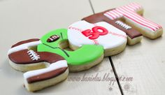 ~Football Cookies~
