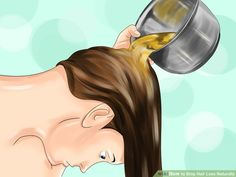 3 Ways to Stop Hair Loss Naturally - wikiHow