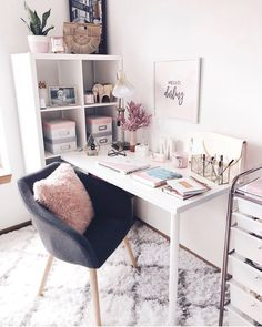 Pastel colors Pastel colors Pastel colors The post Pastel colors appeared first on Slaapkamer ideeën. The post Pastel Study Room Decor, Room Ideas Bedroom, Bedroom Decor, Bedroom Colors, Teen Study Room, Warm Bedroom, Home Office Design, Home Office Decor, Home Decor