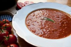 Rajská polévka – Češka z Česka Ethnic Recipes, Food, Essen, Meals, Yemek, Eten