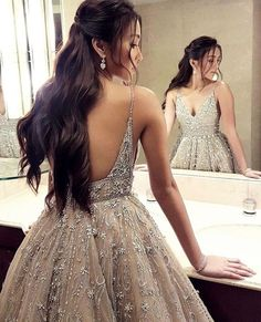 Custom Dresses inspired by Haute Couture Designer Evening Fashion – Wedding Gown Grad Dresses, Evening Dresses, Formal Dresses, Beaded Wedding Gowns, Wedding Dresses, Beaded Gown, Wedding Outfits, Pretty Dresses, Beautiful Dresses