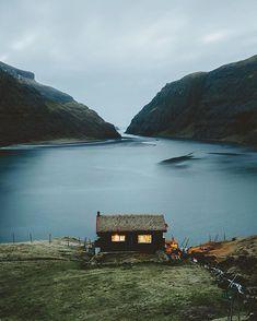 Little house. Little caption.  @VisitFaroeIslands #VisitFaroeIslands #FaroeIslands