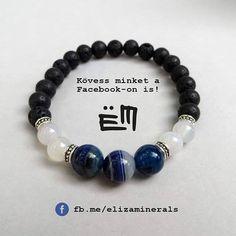 Kövessetek facebook-on is!  #elizaminerals #minerals #ásvány #ásványékszer #ásványkarkötő #kreatív #ékszer #kézműves #egyedi #hungarianjewelry #medál #kézzelkészült #kezzelkeszult #madeinbudapest #madeinhungary #lávakő #lavako #facebook #fb #kovess #kövess #kövessminket #kovessminket #viseljmagyart Essie, Minerals, Dangles, Beaded Bracelets, Facebook, Jewelry, Instagram, Bijoux, Jewlery