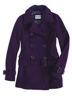 Obsessed with my Perfect Purple Pea coat!