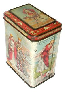 British Biscuit Tins - 1896 Carr & CO