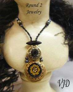 Round 2 Jewelry at Vintage Jewelry Design ~VJD