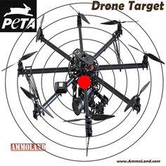 PETA Drone Target